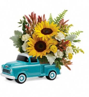 Chevy Pickup Bouquet by Teleflora