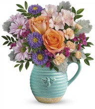 Busy Bee Pitcher by Teleflora