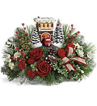 Festive Fire Station by Teleflora
