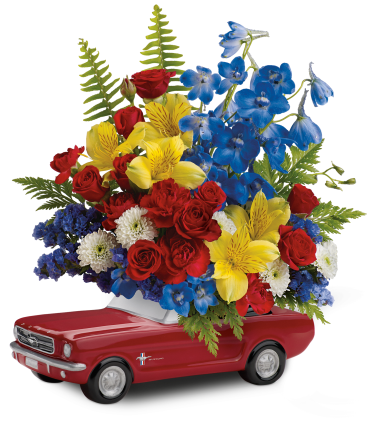 '65 Ford Mustang Bouquet