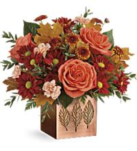 Copper Petals by Teleflora