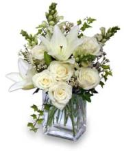 Wonderful White by Flower Shop Network