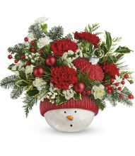 Snowman Ornament by Teleflora