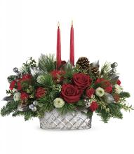 Merry Mercury Centerpiece by Teleflora