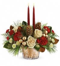 Winter Pines Centerpiece-Teleflora