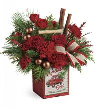 Merry Vintage Christmas by Teleflora